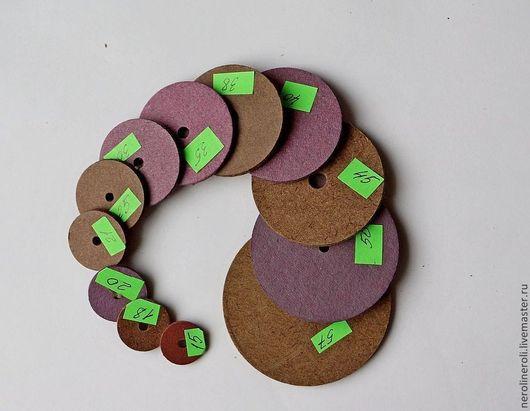 Куклы и игрушки ручной работы. Ярмарка Мастеров - ручная работа. Купить Диски для мишек(образцы). Handmade. Бежевый, диски, диски для мишек