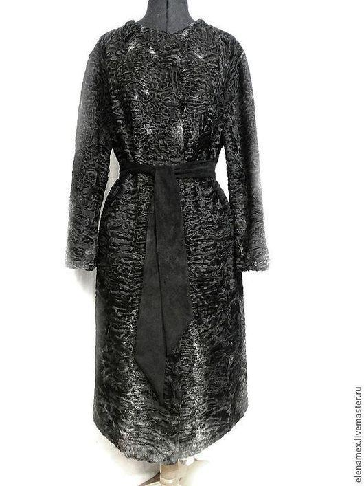 Верхняя одежда ручной работы. Ярмарка Мастеров - ручная работа. Купить Пальто из каракуля swakara. Handmade. Fur, chanel, swakara