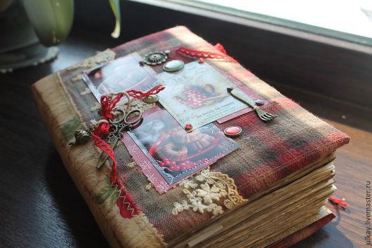 """Кулинарные книги ручной работы. Ярмарка Мастеров - ручная работа. Купить Кулинарная книга """"Маленькая хозяйка нашего дома"""" резерв. Handmade."""