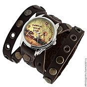 Украшения ручной работы. Ярмарка Мастеров - ручная работа Наручные часы на кожаном ремешке. Handmade.