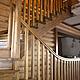 Элементы интерьера ручной работы. Заказать Лестница из массива сосны. Мастерская 'Белый дуб' (b-dub). Ярмарка Мастеров.