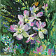 Oil painting Orchid Branch Orchid landscape with flowers, Pictures, Ekaterinburg,  Фото №1