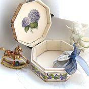 Для дома и интерьера handmade. Livemaster - original item Vintage box