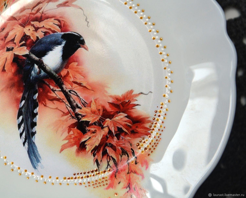 Декоративная тарелка Рапсодия, Тарелки, Тула,  Фото №1