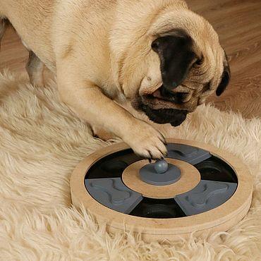 Товары для питомцев ручной работы. Ярмарка Мастеров - ручная работа Интересная IQ игра Косточка для собаки. Handmade.