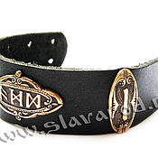 Русский стиль handmade. Livemaster - original item Protective men`s bracelet. The creation of invisibility. Handmade.