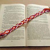 "handmade. Livemaster - original item Закладка в книгу  ""Сказочная змея"". Handmade."