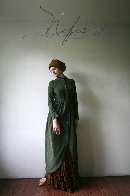 """Платья ручной работы. Ярмарка Мастеров - ручная работа. Купить Платье """"Джазия"""". Handmade. Платье, теплое платье, осеннее палатье"""