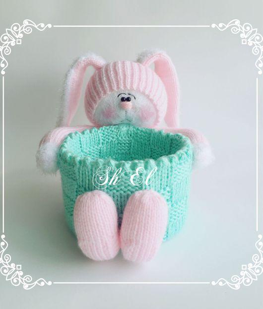 Игрушки животные, ручной работы. Ярмарка Мастеров - ручная работа. Купить Bunny.. Handmade. Куклы и игрушки, зайцы, корзинка, подарки