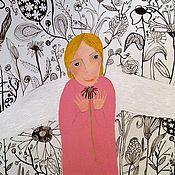Картины и панно ручной работы. Ярмарка Мастеров - ручная работа Ангел этого года.. Handmade.