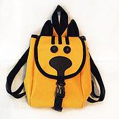Сумки ручной работы. Ярмарка Мастеров - ручная работа Рюкзак детский солнечный котик. Handmade.