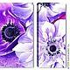 Картины цветов ручной работы. Лиловые цветы. Картины (art59). Интернет-магазин Ярмарка Мастеров. Цветы, фиолетовый цвет