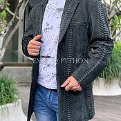 Мужская одежда handmade. Livemaster - original item Jacket made of luxury Python skin
