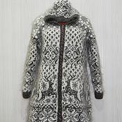 """Одежда ручной работы. Ярмарка Мастеров - ручная работа Вязанное пальто """"Снегопад"""". Handmade."""