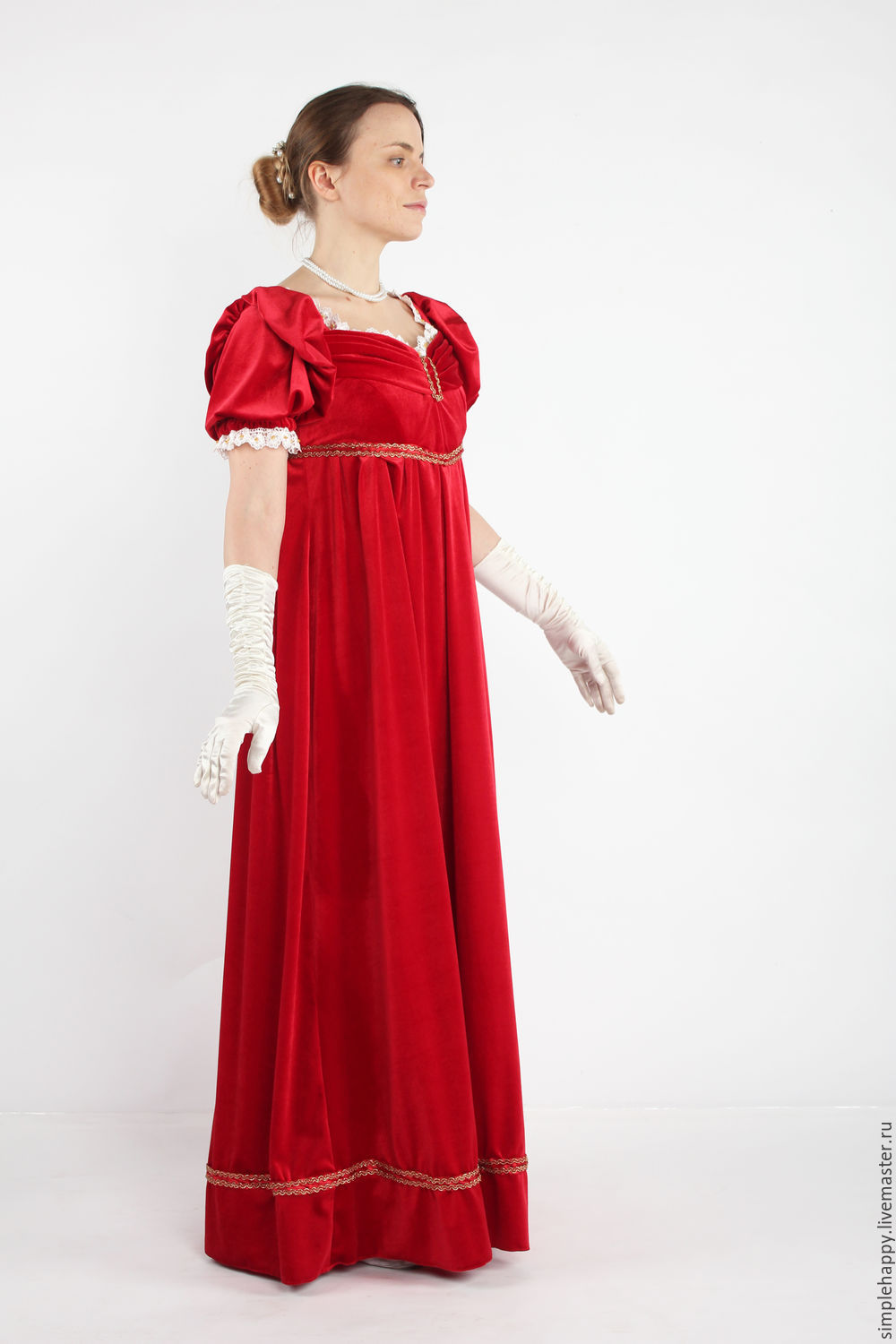 Ball gown of the Empire era – shop online on Livemaster with ...