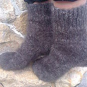 Аксессуары handmade. Livemaster - original item men`s warm socks. Handmade.