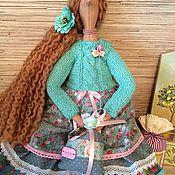 Куклы и игрушки ручной работы. Ярмарка Мастеров - ручная работа Кукла тильда ангел домашнего уюта фея. Handmade.