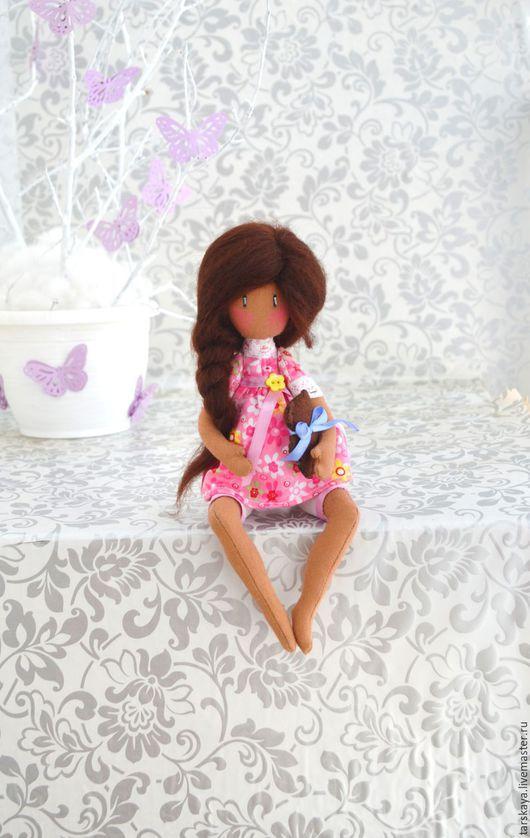 Коллекционные куклы ручной работы. Ярмарка Мастеров - ручная работа. Купить Беременюшка. Handmade. Розовый, кукла ручной работы, беременная