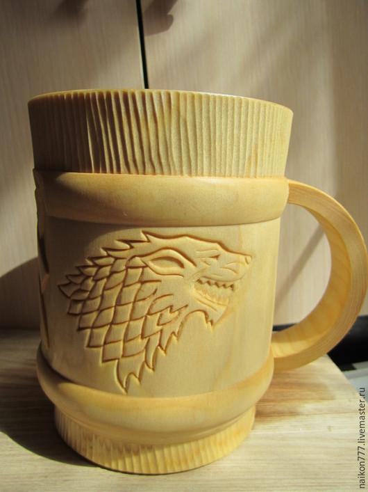 Кружки и чашки ручной работы. Ярмарка Мастеров - ручная работа. Купить Кружка деревянная. Handmade. Кружка, деревянная, на День рождения