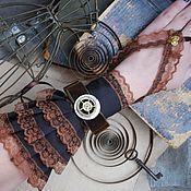 Аксессуары ручной работы. Ярмарка Мастеров - ручная работа Перчатки в стиле steampunk. Handmade.