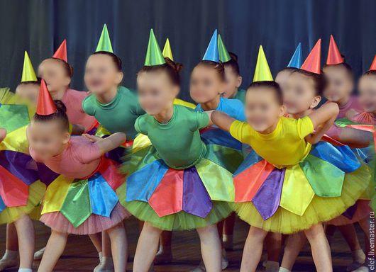 """Танцевальные костюмы ручной работы. Ярмарка Мастеров - ручная работа. Купить Танцевальный костюм """"Карандаши"""". Handmade. Разноцветный, сценический костюм"""