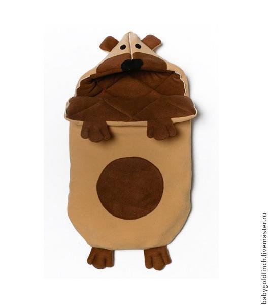"""Для новорожденных, ручной работы. Ярмарка Мастеров - ручная работа. Купить Конверт для новорожденных на выписку и в коляску """"Мишутка"""". Handmade. Мишка"""