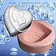 """Силиконовая форма для мыла """"Два сердца"""""""