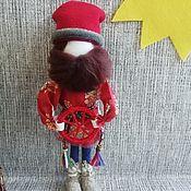 Куклы и игрушки handmade. Livemaster - original item Spiridon-Solntsevorot male amulet. Handmade.