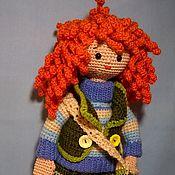 Куклы и игрушки ручной работы. Ярмарка Мастеров - ручная работа Кукла Наташка. Handmade.