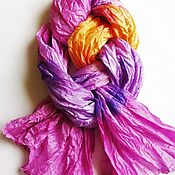 Scarves handmade. Livemaster - original item Tippet Batik
