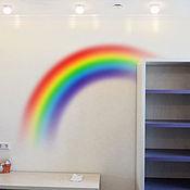 Для дома и интерьера ручной работы. Ярмарка Мастеров - ручная работа радуга. Handmade.