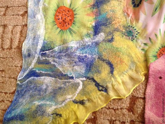 Шарфы и шарфики ручной работы. Ярмарка Мастеров - ручная работа. Купить шарфички. Handmade. Разноцветный, подарок женщине
