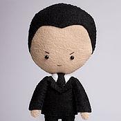 Куклы и игрушки ручной работы. Ярмарка Мастеров - ручная работа Джим Мориарти - кукла ручной работы по мотивам сериала Шерлок BBC. Handmade.