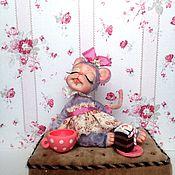 Куклы и игрушки ручной работы. Ярмарка Мастеров - ручная работа Мышуля-воображуля. Handmade.