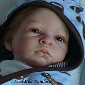 Куклы и игрушки ручной работы. Ярмарка Мастеров - ручная работа Дима. Кукла реборн Людмилы Даниловой. Handmade.