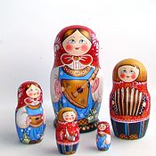 Dolls1 handmade. Livemaster - original item Matreshka 5 places