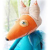 """Куклы и игрушки ручной работы. Ярмарка Мастеров - ручная работа Интерьерная кукла """"Лиса-танцовщица"""". Handmade."""