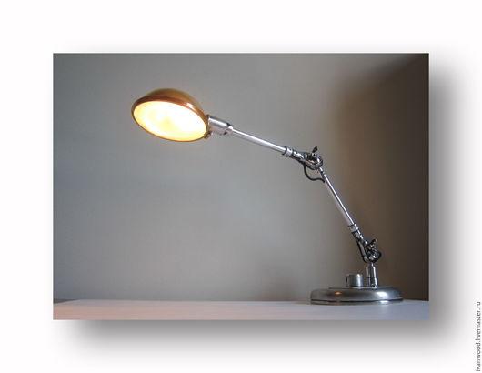 """Освещение ручной работы. Ярмарка Мастеров - ручная работа. Купить """"Навигатор"""" настольная лампа. Handmade. Белый, светильник ручной работы"""