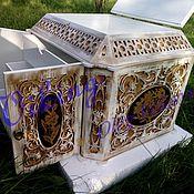 Для дома и интерьера ручной работы. Ярмарка Мастеров - ручная работа Сундук с ящиками и крышкой. Handmade.