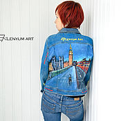 """Куртки ручной работы. Ярмарка Мастеров - ручная работа Куртка """"Лондон"""". Handmade."""