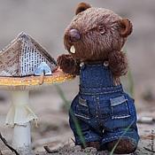 Куклы и игрушки ручной работы. Ярмарка Мастеров - ручная работа Бобёр Степан. (Друзья мишек Тедди). Handmade.