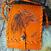 Сумки и аксессуары handmade. Livemaster - original item small leather handbag