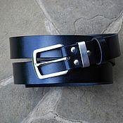 Ремни ручной работы. Ярмарка Мастеров - ручная работа Ремень Италия нержавеющая сталь Н-001. Handmade.