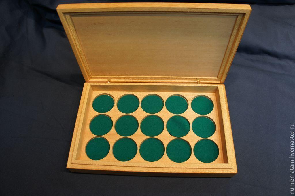 Как сделать планшет для монет своими руками