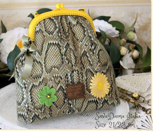питон экокожа зеленый желтый сумка лето весна цветы купить москва купить сумку ручной работы купить сумка ярмарка мастеров кожа зеленый покупка коллекция фетр питон кожа зеленый сумка италия зеленый