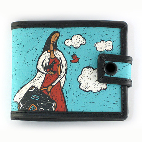 Bags & Accessories handmade. Livemaster - handmade. Buy Purse on the button 'Girl with dog'.Gift, print