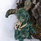 Куклы и игрушки ручной работы. Ярмарка Мастеров - ручная работа Зайку бросила хозяйка..... Handmade.