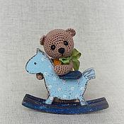 Куклы и игрушки ручной работы. Ярмарка Мастеров - ручная работа мишка Гришенька. Handmade.
