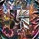 Шали, палантины ручной работы. Ярмарка Мастеров - ручная работа. Купить Осенняя мечта (платок)60/60 см.Горячий батик.АТЛАС.. Handmade.