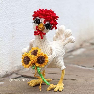 Куклы и игрушки ручной работы. Ярмарка Мастеров - ручная работа Курочка Моника. Handmade.